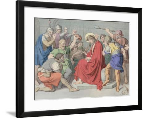 Jesus Is Crowned with Thorns--Framed Art Print
