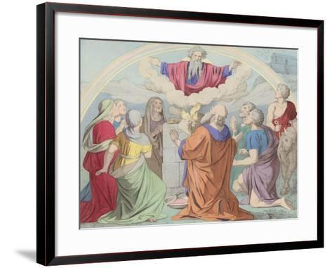The Sacrifice of Noah--Framed Art Print