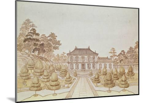 One of the 36 Palaces of the Emperor at Yuen Ming Yuen, Built by Benoit in 1750--Mounted Giclee Print