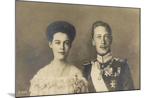 Cecilie Und Friedrich Wilhelm Von Preußen, Portrait--Mounted Giclee Print