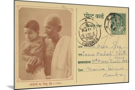 Mahatma Gandhi--Mounted Photographic Print