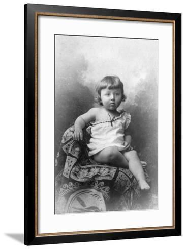 Andre Breton--Framed Art Print