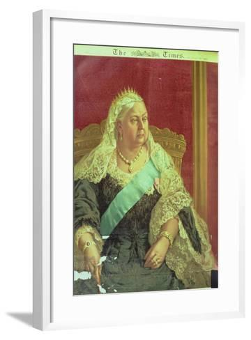 Diamond Jubilee Presentation of Queen Victoria, from the Times, 1897--Framed Art Print