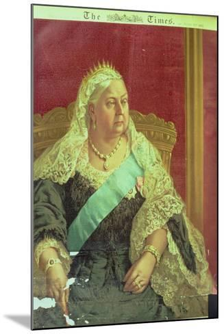 Diamond Jubilee Presentation of Queen Victoria, from the Times, 1897--Mounted Giclee Print