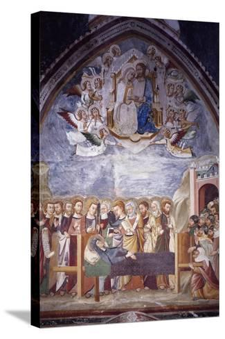 The Assumption and Dormitio Virginis--Stretched Canvas Print