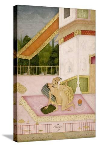 The Private Pleasure of Prince Parwez--Stretched Canvas Print