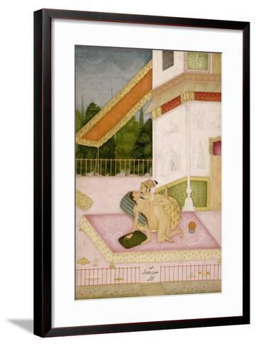 The Private Pleasure of Prince Parwez--Framed Art Print