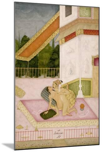 The Private Pleasure of Prince Parwez--Mounted Giclee Print