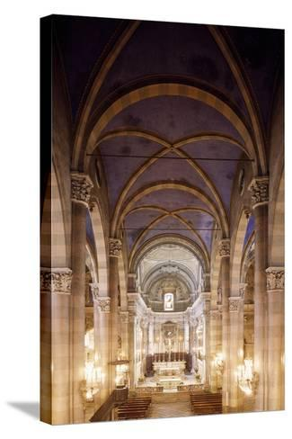 Central Nave of Church of San Domenico, Casale Monferrato, Italy, 15th-16th Centuries--Stretched Canvas Print