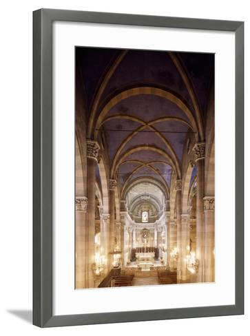 Central Nave of Church of San Domenico, Casale Monferrato, Italy, 15th-16th Centuries--Framed Art Print