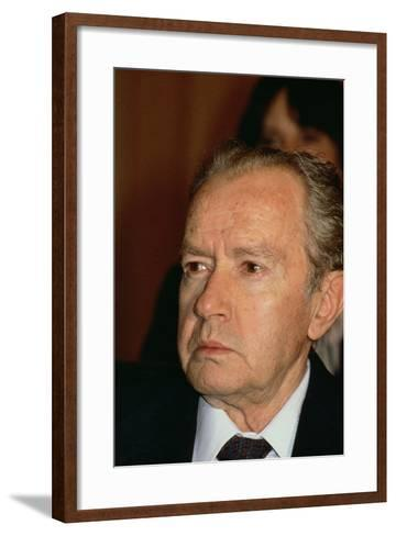 Portrait of Juan Rulfo--Framed Art Print