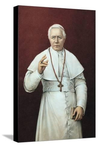 Pope Pius X--Stretched Canvas Print