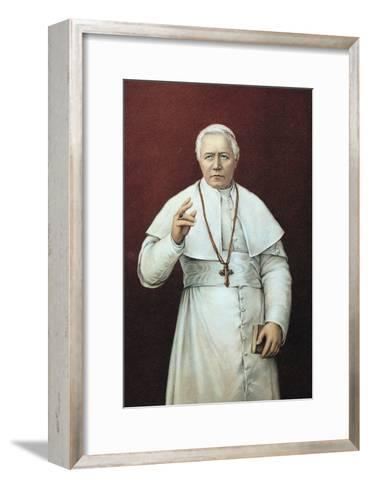 Pope Pius X--Framed Art Print