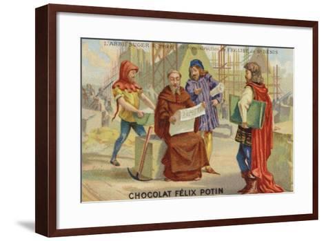 Abbot Suger--Framed Art Print