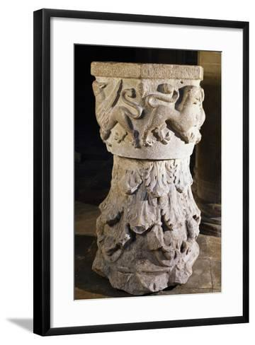 Font, Cathedral of Asti, Italy, 13th-15th Century--Framed Art Print