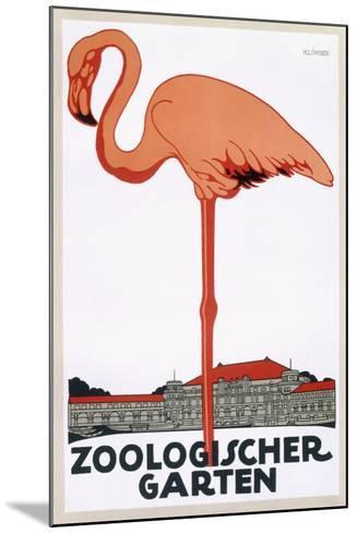Poster for the Zoological Garden, Berlin, 1927--Mounted Giclee Print