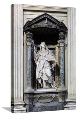 San Giacomo Maggiore, Marble Statue--Stretched Canvas Print