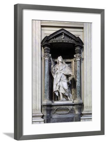 San Giacomo Maggiore, Marble Statue--Framed Art Print