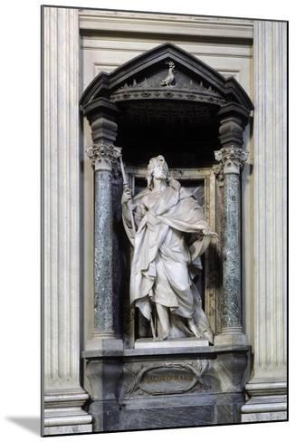 San Giacomo Maggiore, Marble Statue--Mounted Giclee Print