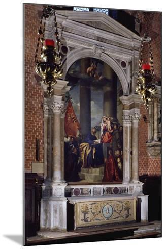 Madonna of Ca' Pesaro, 1519-1526--Mounted Giclee Print