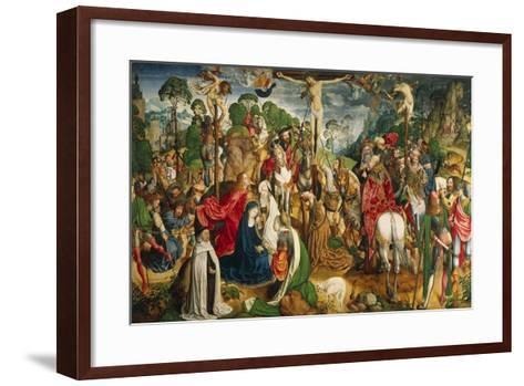 Altarpiece Showing the Passion of Christ--Framed Art Print