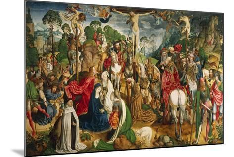 Altarpiece Showing the Passion of Christ--Mounted Giclee Print