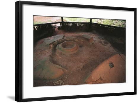 Zimbabwe, Masvingo, Great Zimbabwe National Monument, Ruins of Old Town--Framed Art Print