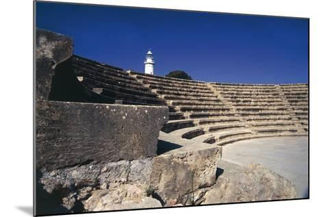 Cyprus, Paphos, Odeon, Amphitheatre--Mounted Giclee Print