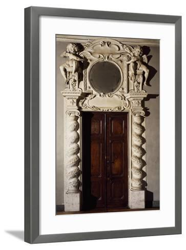 Hall of Mirrors in Valentino Castle, Savoy Residence, Turin, Italy, 16th Century--Framed Art Print