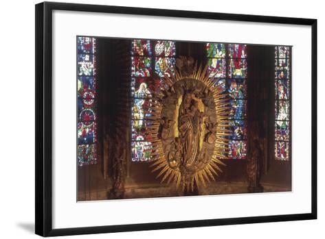 Madonna and Child, the Choir, Cathedral of Aachen--Framed Art Print