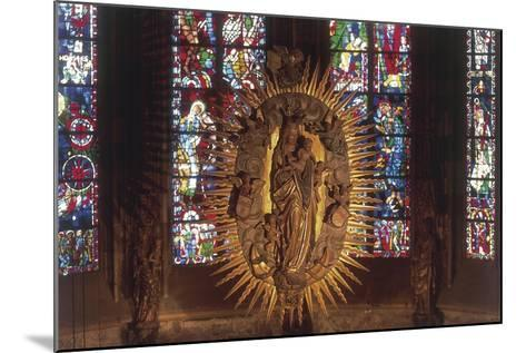 Madonna and Child, the Choir, Cathedral of Aachen--Mounted Giclee Print
