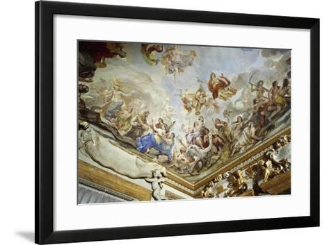 Courtyard, Palazzo Medici Riccardi, Florence--Framed Art Print