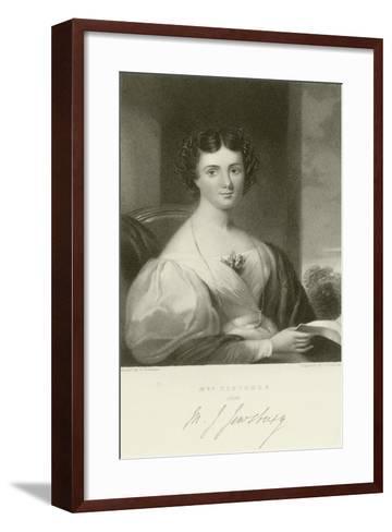 Mrs Fletcher--Framed Art Print