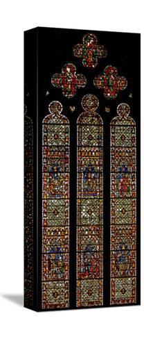 Window W41 Depicting the Bell Founders' Window'--Stretched Canvas Print