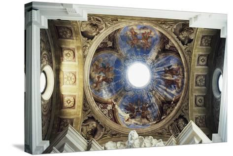 Vault of Church of St Nicholas--Stretched Canvas Print