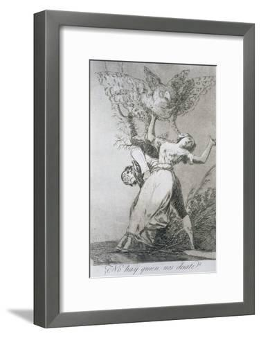 Can't Anyone Untie Us?, Plate 75 of 'Los Caprichos', 1799--Framed Art Print