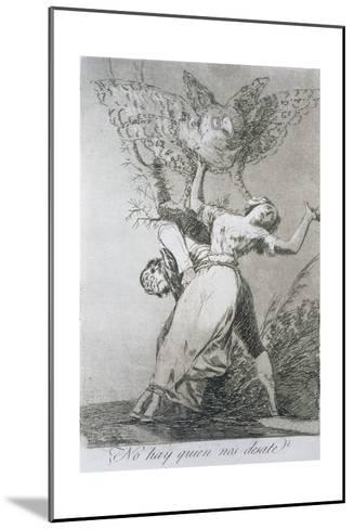 Can't Anyone Untie Us?, Plate 75 of 'Los Caprichos', 1799--Mounted Giclee Print