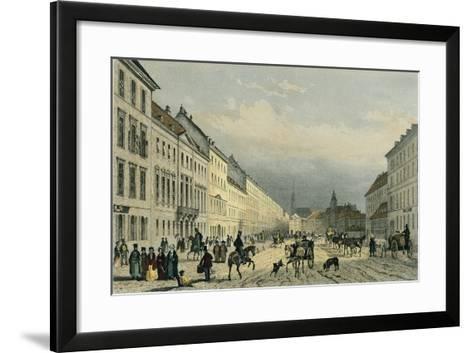 Austria, Vienna, Laegerzeile--Framed Art Print