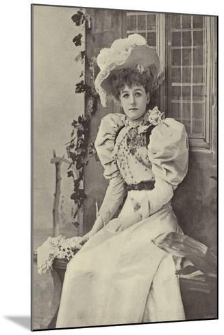 "Miss Ethel Haydon, as Alice in ""Dandy Dick Whittington""--Mounted Photographic Print"