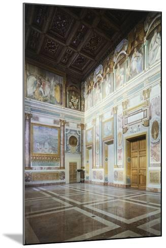 Frescoed Walls, Aula Massima, Lateran Palace, Rome, Vatican City, Italy, 16th Century--Mounted Giclee Print