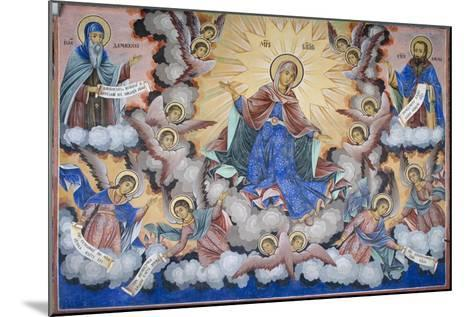 Bulgaria, Rila Monastery of Glory of Virgin at Church of Nativity of Virgin--Mounted Giclee Print