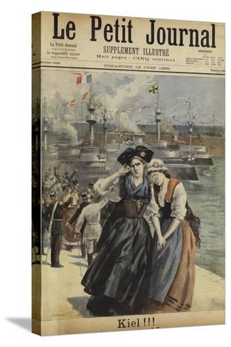 Cover of Le Petit Journal, 16 June 1895--Stretched Canvas Print