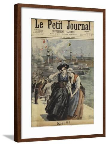 Cover of Le Petit Journal, 16 June 1895--Framed Art Print