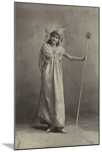 """Miss Minnie Terry, as the Sylph Coquette in """"Cinderella""""--Mounted Photographic Print"""