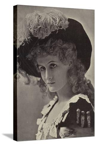 Miss Alice Lethbridge--Stretched Canvas Print