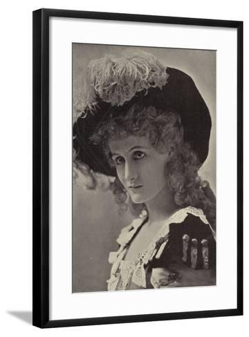 Miss Alice Lethbridge--Framed Art Print