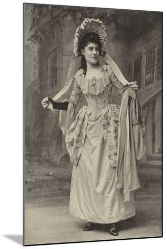 """Miss Alice Esty, in """"The Golden Web""""--Mounted Photographic Print"""