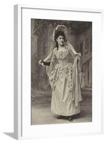 "Miss Alice Esty, in ""The Golden Web""--Framed Art Print"