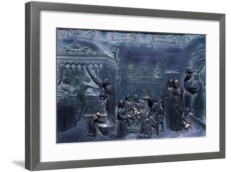 Panel of Door--Framed Art Print