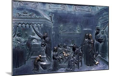 Panel of Door--Mounted Giclee Print